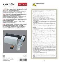 KMX 100 - Velux AS