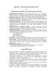 Regulamin promocji - Velux
