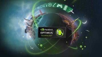 NVIDIA Optimus – Software Implementation - Portables4Gamers