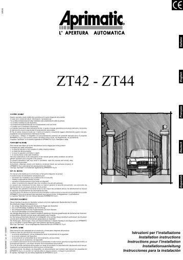 ZT42 - ZT44 - ANDOVE