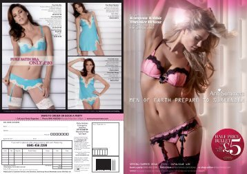 Save £4 - Book a Party - Ann Summers