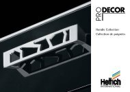 Handle Collection Collection de poignées - Hettich