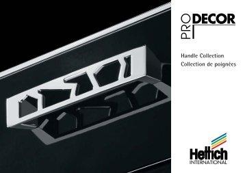 Handle Collection Collection de poignées - Hettich