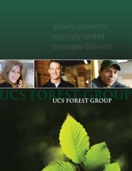 Corporate Brochure - UCS Forest Group