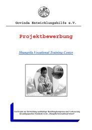 SVTC Projekt - Govinda e.V. - Govinda Entwicklungshilfe e.V.