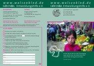 März 2006 - Govinda Entwicklungshilfe e.V.