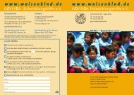 November 2005 - Govinda Entwicklungshilfe e.V.
