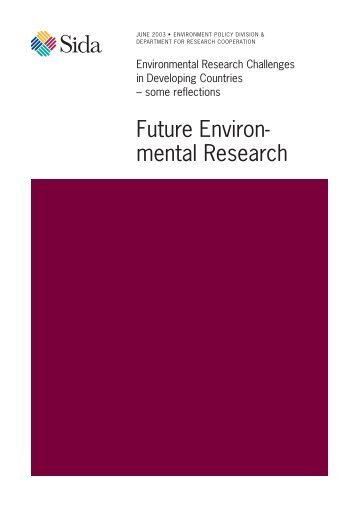 Future Environ- mental Research