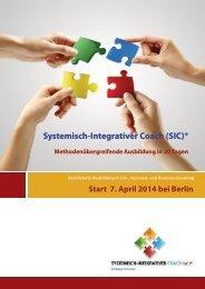 Coaching-Ausbildung SIC 14-1 - zur Coaching-Ausbildung
