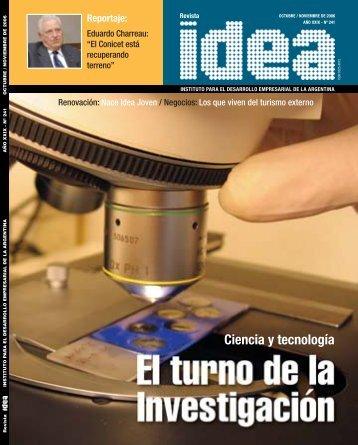 Ciencia y tecnología - Diseño Gráfico Ribeiro