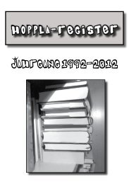 Hoppla-Register 1992-2012 - Kinderwerk