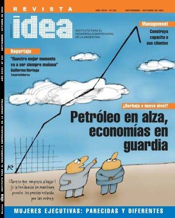 Petróleo en alza, economías de alerta - Diseño Gráfico Ribeiro