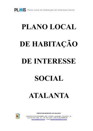 PLANO LOCAL DE HABITAÇÃO DE INTERESSE SOCIAL ... - Amavi