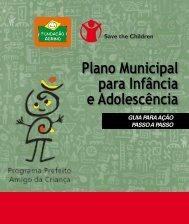 Plano Municipal para Infância e Adolescência: Guia Passo ... - AMAVI