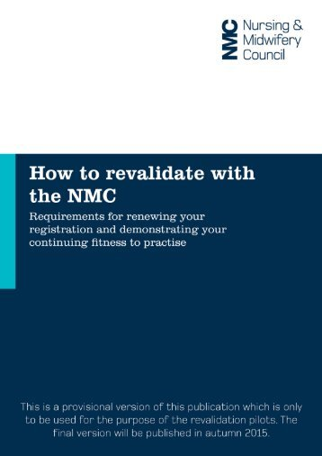 How to revalidate final draft