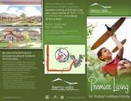 Tierra Vista Brochure - Air Force Housing