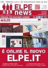 ELPE NEWS GENNAIO 2015