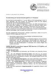 Pressetext 2013.pdf - Govinda Entwicklungshilfe e.V.
