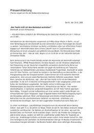 Atomkraft ist kein Klimaschutz - anti-atom Berlin