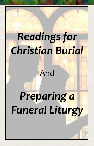 Funeral Readings - Messiah Church – ELCA