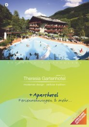 SPA - Hotel Theresia