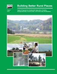Building Better Rural Places - National Good Food Network