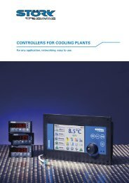 CONTROLLERS FOR COOLING PLANTS - Tasseron