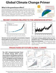 Global Climate Change Primer - Center for Science in the Earth ...