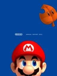 Nintendo: Annual Report 2012