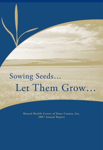 2007 Annual Report - Journey Mental Health Center