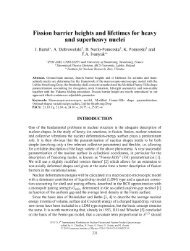Fission barrier heights and lifetimes for heavy and superheavy nuclei