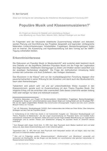PDF (45 Seiten - 3268 kb - Schulmusiker.info