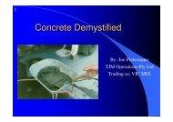 Concrete Demystified (.pdf) - Vic Mix