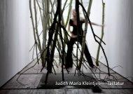 Judith Maria Kleintjes–––Tastatur