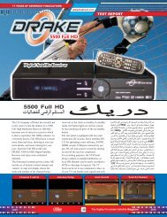 DRAKE 5500 Full HD - Dish Channels - International Satellite ...