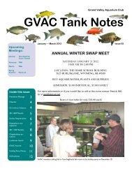 issue 55 jan march 2012 - Grand Valley Aquarium Club