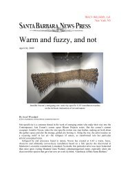 Warm and fuzzy, and not - Tracy Williams, Ltd.
