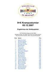9=X Krampus Turnier - Hobbyspieler - BEACHZONE