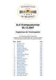 9=X Krampus Turnier - Vereinsspieler - BEACHZONE