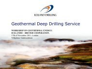 Geothermal Deep Drilling Service