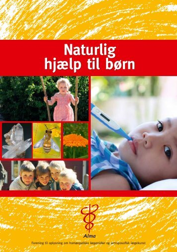 Naturlig hjælp til børn - Alma
