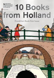 10 Books from Holland (Autumn 2013) - Nederlands Letterenfonds