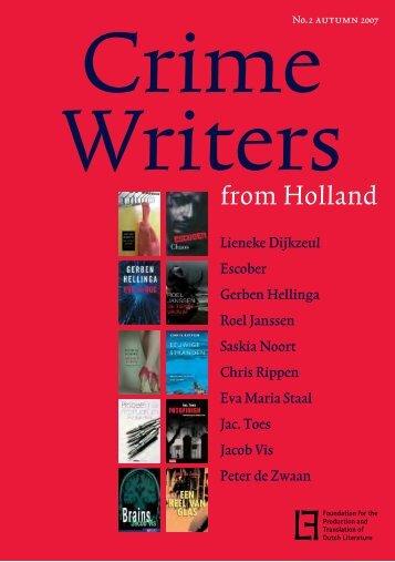 Crime Writers from Holland 2007 - Nederlands Letterenfonds