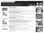 schedule - Gateway PGA