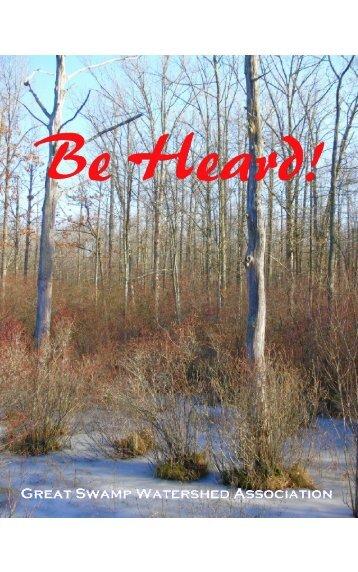 Be Heard! Citizen Advocacy Program Booklet (pdf) - Great Swamp ...