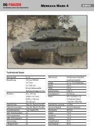 Merkava Mark 4 - OG Panzer