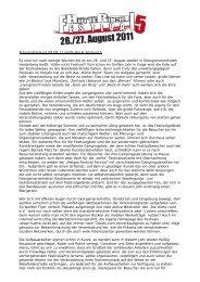 Pressemitteilung 09.08.11 Hütte Rockt Festival 5 Es ... - Sub SoundS
