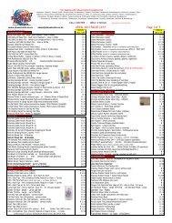APRIL 2011 PRICE LIST Page 1 of 3 - Planet Nails