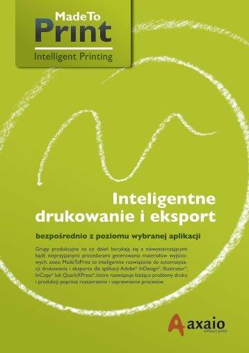 Inteligentne drukowanie i eksport - Four Pees