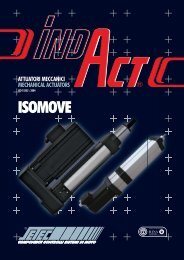 attuatori meccanici isomove - Setec